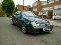 Mercedes Benz C180 K AUTO 3DR FULL S/H LEATHERS