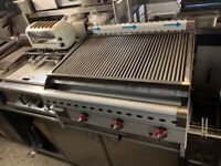 NEW COMMERCIAL CATERING KITCHEN HIGH QUALITY KEBAB BBQ CHARCOAL GRILL FAST FOOD TAKE AWAY SHOP
