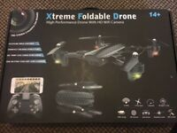 Xtreme Pro Foldable Drone with HD wifi Camera