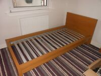 Single Bed, Bedside Cabinets and Chest of Drawers (Pet Free and Non Smokers Home)