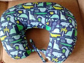Dinosaur Print Nursing Pillow