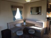 3 bed Deluxe caravan at Seton Sands Haven Holiday Park