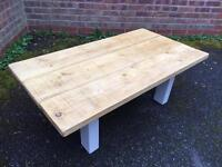 Brand New Bespoke Solid Pine Coffee Table, Can Deliver