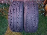 Saab alloys and tyres x 4