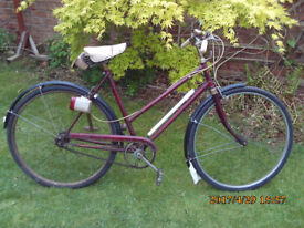 ROYAL ALBERT THREE SPEED ONE OF MANY QUALITY BICYCLES FOR SALE