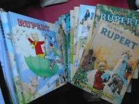 RUPERT ANNUALS; LARGE COLLECTION