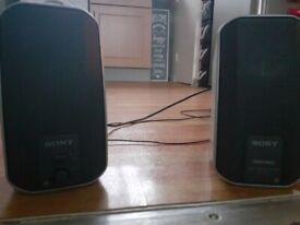 Sony active computer speakers