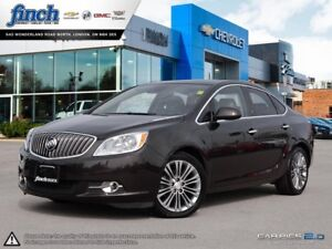 2014 Buick Verano Leather Package LEATHER|SUNROOF|REAR PARK A...