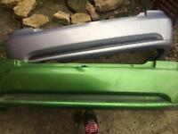 Astra coupe rear bumpers