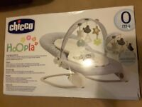 BRAND NEW Chicco Hoopla Bouncer from birth up to 18kg