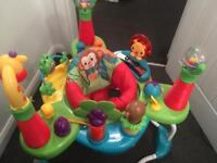 Jungle baby and toddlers jumperoo