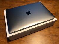 Apple MacBook 12'' Retina 1.3GHz intel Core m7 512GB SSD 8GB RAM Space Grey 2016 - 1 year Apple Care
