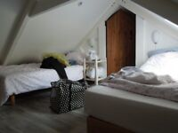Brittany cottage with woodburner ,2 bedrooms and en-suites, for sale furnished, ready to move in !