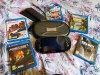 PsVita plus games. Excellent condition