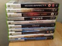 Xbox 360 games bundle. Perfect condition.