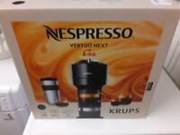 Brand new Boxed Nespresso Vertuo Premium Xn 910840 Black Coffee Machine