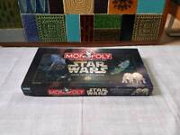 LIMITED COLLECTORS EDITION STAR WARS MONOPOLY