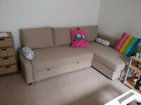 FRIHETEN Ikea Corner sofa-bed for sale - Very comfy and space saver+storage