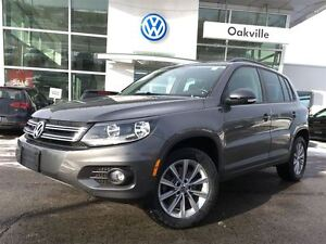 2014 Volkswagen Tiguan CL/AWD/SUNROOF/LOW MILEAGE!