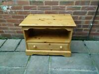 £35 solid pine TV cabinet farmhouse shabby chic project