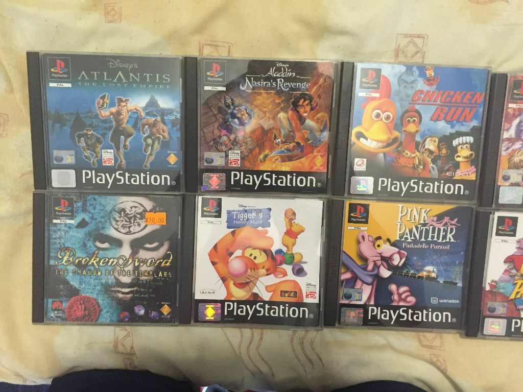All Playstation 1 Games : Playstation games for sale please see all photos in