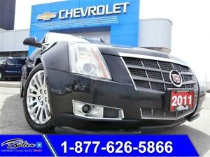 2011 Cadillac CTS Performance/Luxury AWD - Cooled Seats
