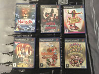 6 PlayStation 2 PS2 Games for Sale