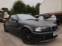 BMW 3 Series 2.0 318Ci CONVERTIBLE 3 MONTH WARRANTY RECENTLY SERVICED