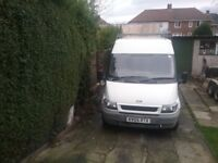Ford transit 05 plate