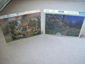 2 brand new adult puzzles