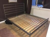 King Size Bed (IKEA)