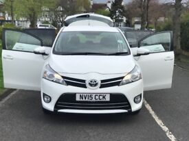 TOYOTA VERSO 1.8+1 YEAR MOT+HPI CLEAN+2 KEYS+3 MONTHS WARRANTY+LOW MILADGE+EXCELLANT CONDITION