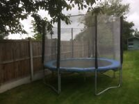 10ft trampoline for sale.