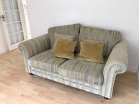 2 two-seater sofas