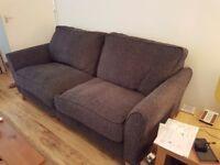 Debenhams 1yro 3 str sofa fabric
