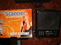 The Scanner Wireless VHF Microphone System and Speaker amplifier