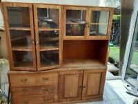 Kitchen unit for renovation display cabinet