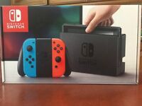 Nintendo Switch Console - Neon Red/Blue
