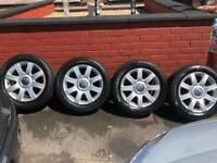 Vw golf alloy wheels as new