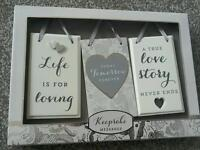 Wedding plaques