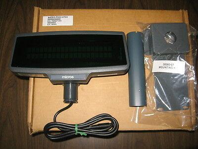 Micros Pcws Customer Display 700827-005 - 6 Display Post - Mounting Kit - New