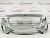 MERCEDES A CLASS AMG FACELIFT W176 GENUINE SILVER FRONT BUMPER 2015-2018 [PC262]
