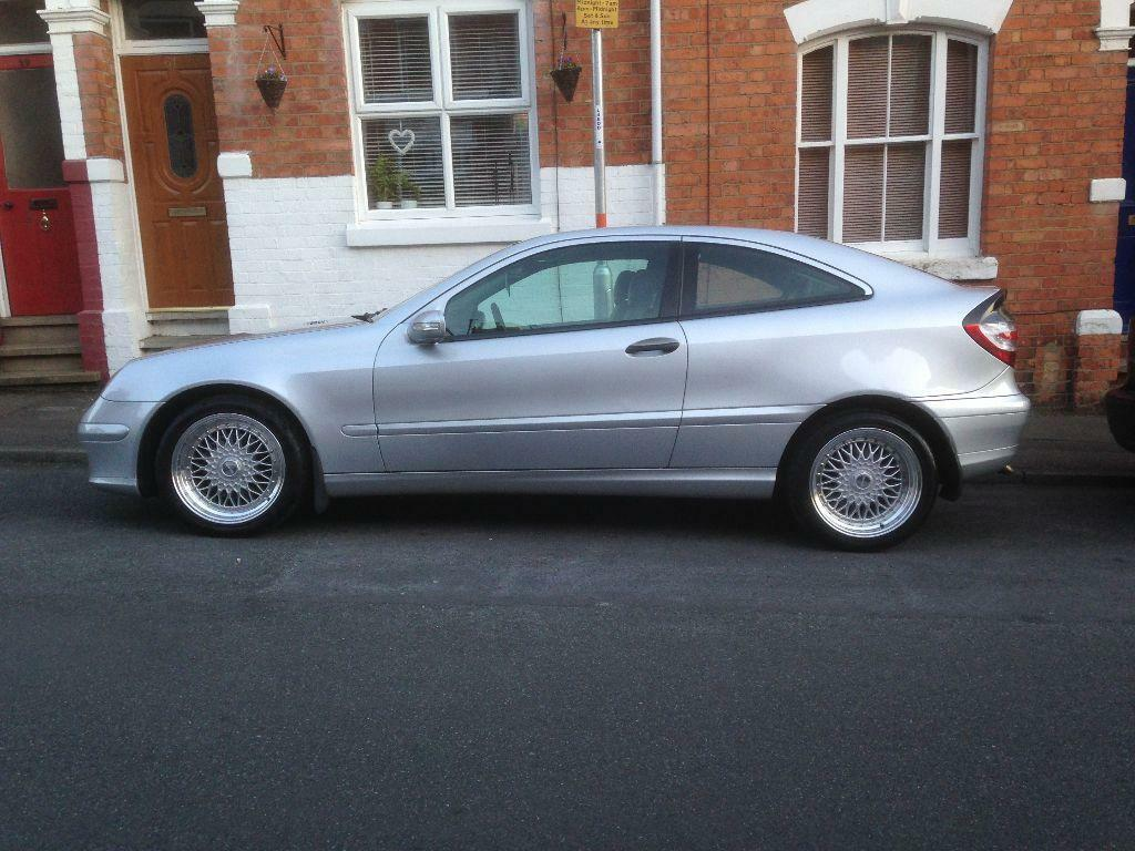 mercedes c200 cdi se coupe auto facelift model 2 1 12 month mot in northampton. Black Bedroom Furniture Sets. Home Design Ideas