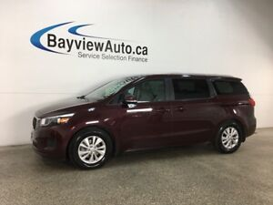 2018 Kia Sedona LX - ALLOYS! ECO MODE! HTD SEATS! BLUETOOTH!...
