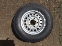 Spare Wheel for van or trailer - 5 Stud