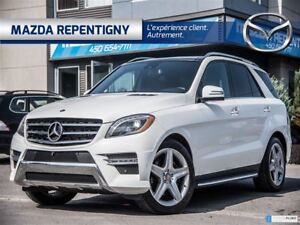 2014 Mercedes-Benz M-Class ML350 BLUETECH 4 MATIC ** SPORT PACK
