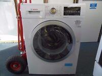 EX-DISPLAY BOSCH WHITE 8 / 5 KG 1500 SPIN WASHER DRYER REF: 31164