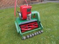 "Suffolk Punch 14"" petrol mower"