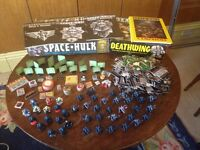 Space Hulk boxed, Death Wing boxed, Space Hulk Campaigns - original 1989 edition