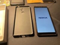 """Nokia 7 Plus 6.0"""" in Black Dual Sim Fully Unlocked"""